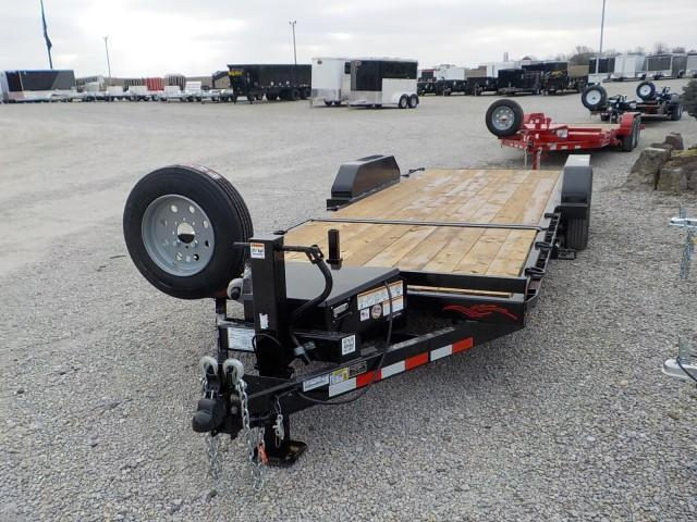 2021 Trailerman Trailers Inc. T83166CT-B-160 TILT Equipment Trailer