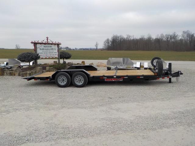 2021 Trailerman Trailers Inc. T83166CT-B-160 TILT Equipment Trailer