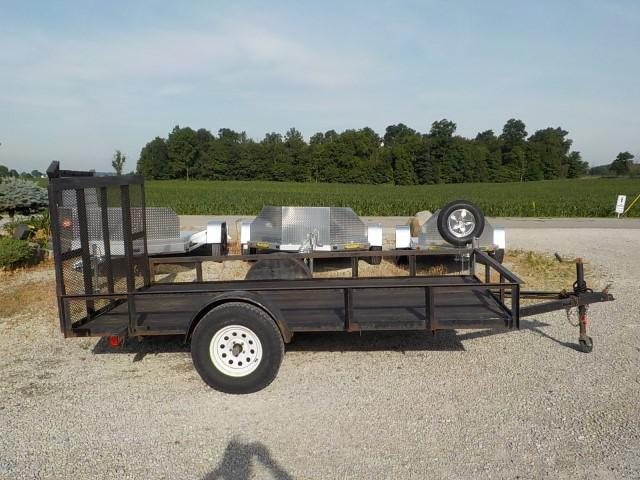 2006 Homemade 6' x 12' Utility Trailer **USED**