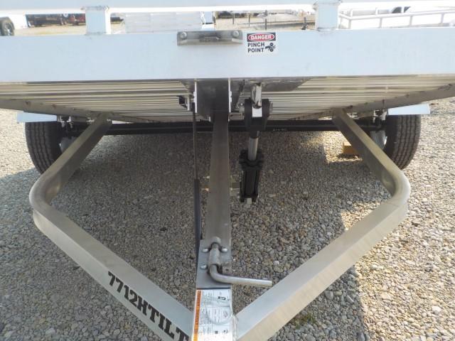 2022 Aluma Model 7712 H - TILT Utility Trailer