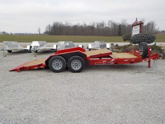 2021 Trailerman Trailers Inc. T83164CT-B-160 CUSHION TILT Equipment Trailer