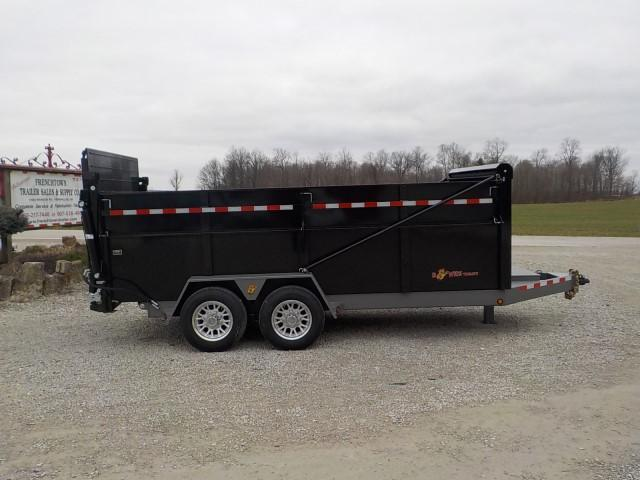 2021 B-Wise DU16-15 ULTIMATE HYDRAULIC Dump Trailer