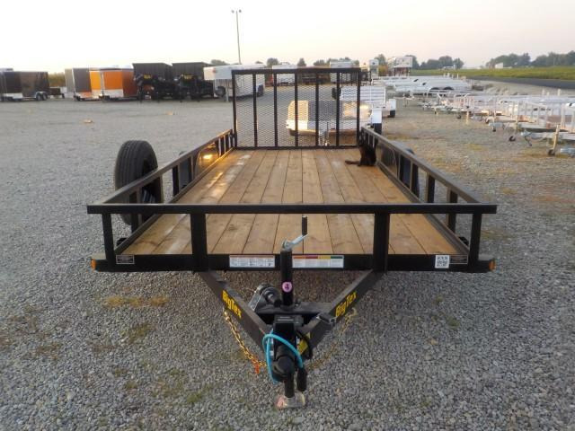2022 Big Tex Trailers 70PI - 20XBK4RG Utility Trailer