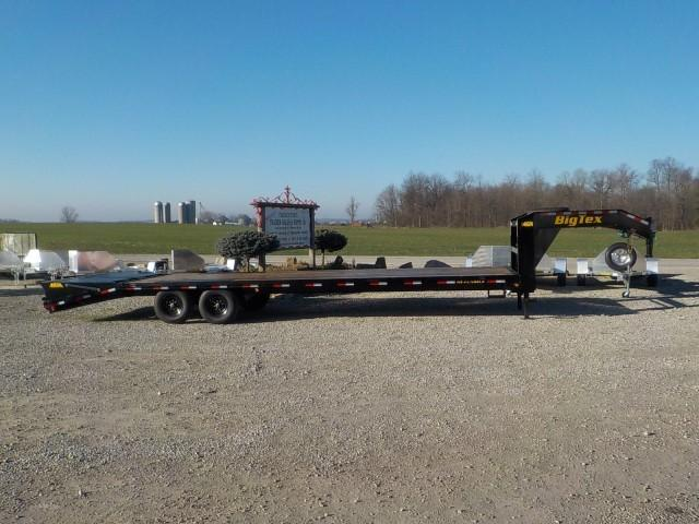 2021 Big Tex Trailers 14GN-25BK+5MR Equipment Trailer