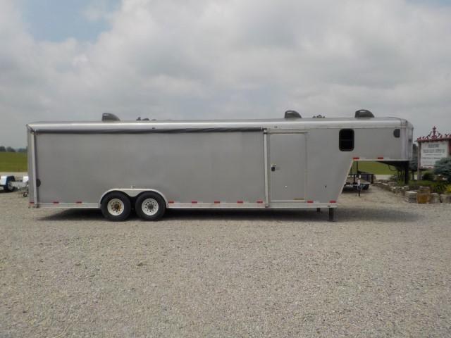 2005 H and H Trailer FD-306 REVA GOOSE NECK Enclosed Cargo Trailer