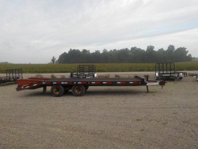 1995 Towmaster Trailers MODEL C-24 Equipment Trailer