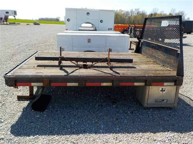 """Steel Truck Bed 9'6"""" x 97"""" x 60"""" x 34"""""""