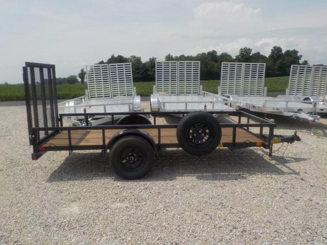 2021 Big Tex Trailers 30SA-12BK4RG Utility Trailer