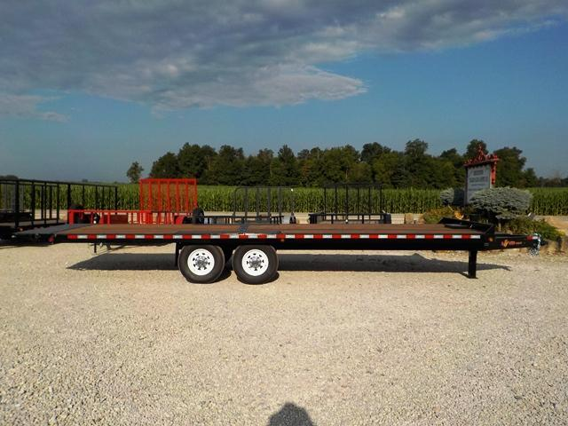 2020 B-Wise TH824DIBNJ Full Tilt Deckover Equipment Trailer