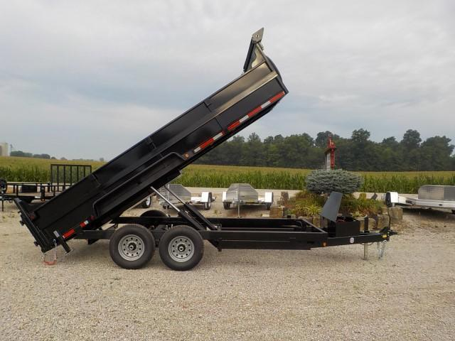 2021 Quality Steel and Aluminum 8316D 14K Dump Trailer