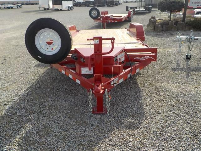 2021 Trailerman Trailers Inc. T83164CT-B-140 CUSHION TILT Equipment Trailer