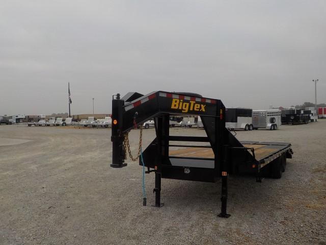 2021 Big Tex Trailers 22GN-20BK+5 MR Equipment Trailer