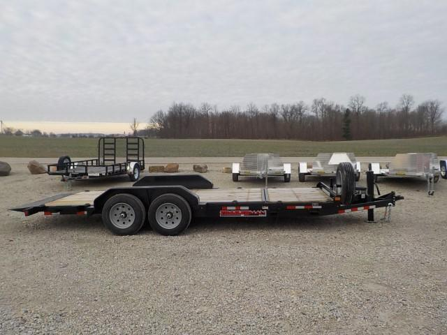 2021 Trailerman Trailers Inc. CTT7416N14 Equipment Trailer