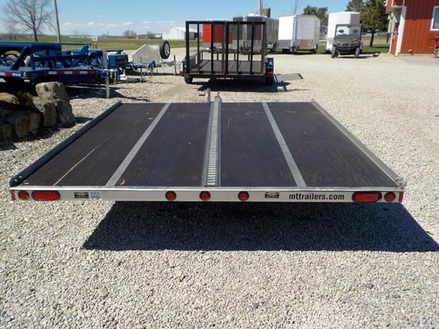 2011 Miller SNOW BLAZER Snowmobile Tilt Trailer **USED**