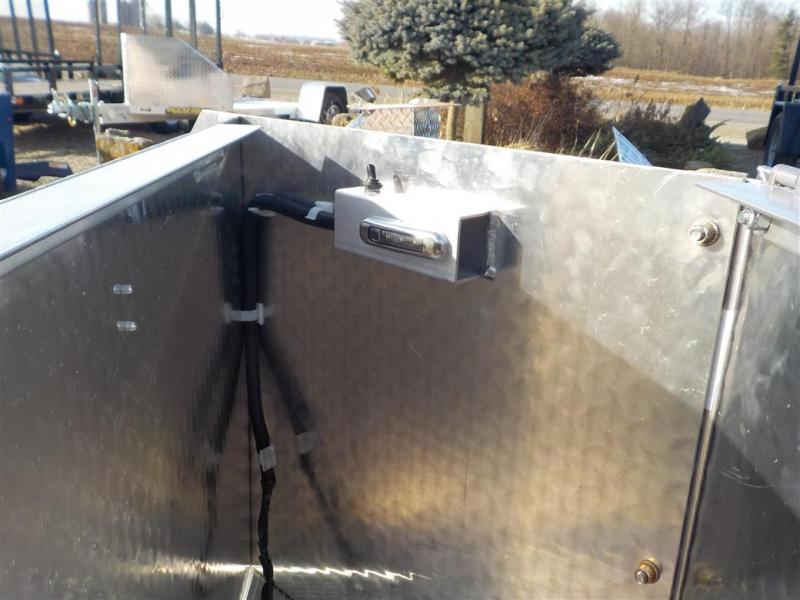 2020 Aluminum UTR 12 S R Utility Trailer