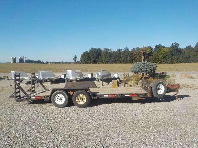 1997 Trailtech Light Duty Equipment Trailer
