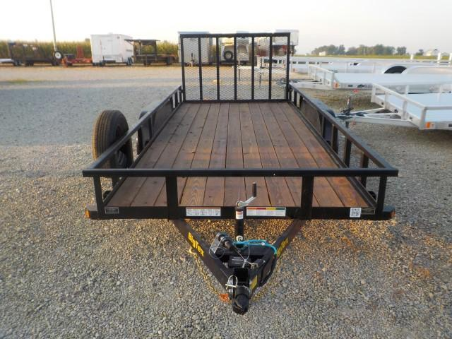 2022 Big Tex Trailers 70PI - 18XBK4RG Utility Trailer