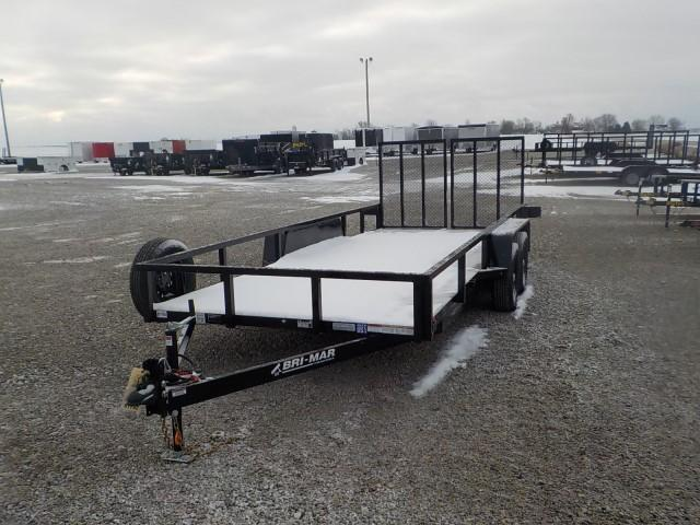2021 Bri-Mar UT-718 Utility Trailer