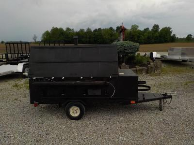 2000 Homemade 4' X 6' GAS GRILL  **USED**