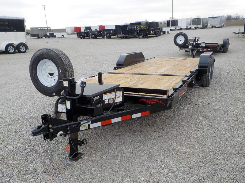 2021 Trailerman Trailers Inc. T83166CT-B-140 CUSHION TILT Equipment Trailer