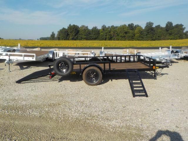 2022 Big Tex Trailers 35SA-12BKRSX Utility Trailer