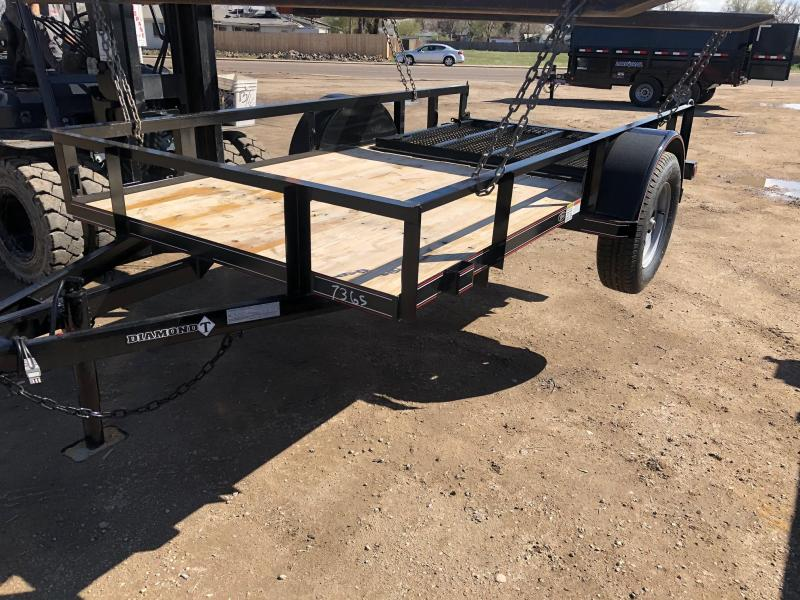 2021 Diamond T Trailers 5-10RampGateUtility