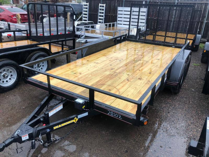 2021 Diamond T Trailers 83-14RampGateUtility