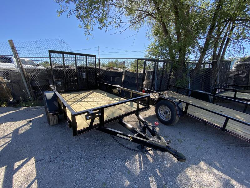 2021 Diamond T Trailers 5-8RampGate