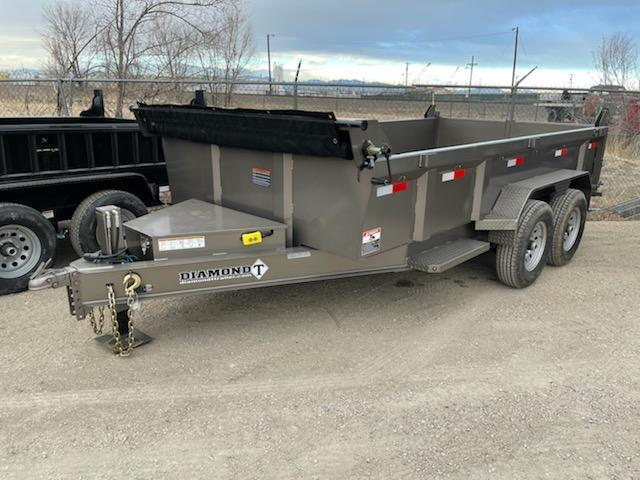2021 Diamond T Trailers 83-14Dump