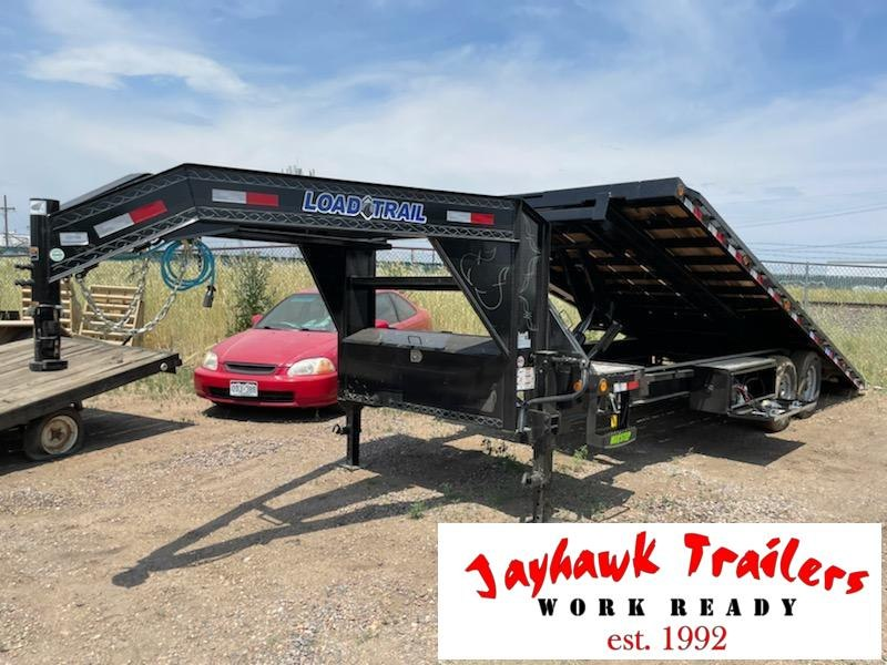 2021 Load Trail 102-24TILTDeckOverGooseNeck