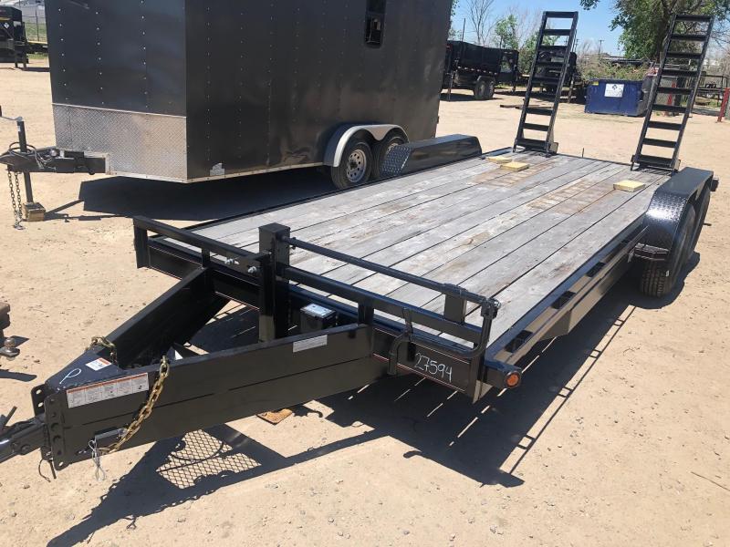 2021 Diamond T Trailers 83-HD20SKIDPROEquipmentHauler