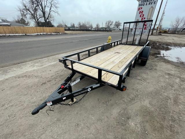 2021 Diamond T Trailers 5-14RampGate