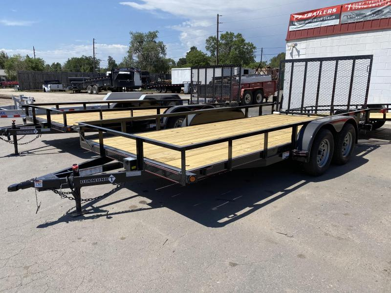 2020 Diamond T Trailers 83-16RampGate