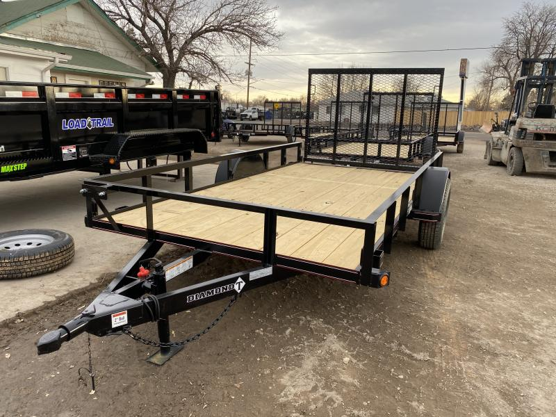 2021 Diamond T Trailers 6-12RampGate