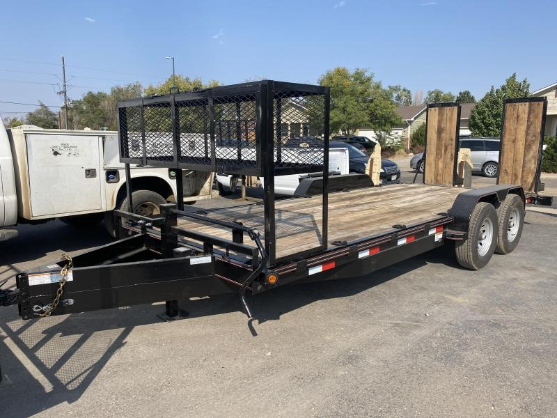2021 Diamond T Trailers 83-HD20SkidPro