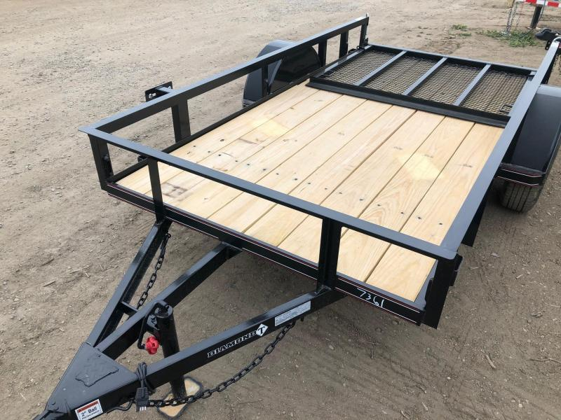 2021 Diamond T Trailers 5-10RampGateProwlerUtility