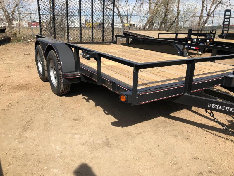 2021 Diamond T Trailers 83-12RampGateUtility