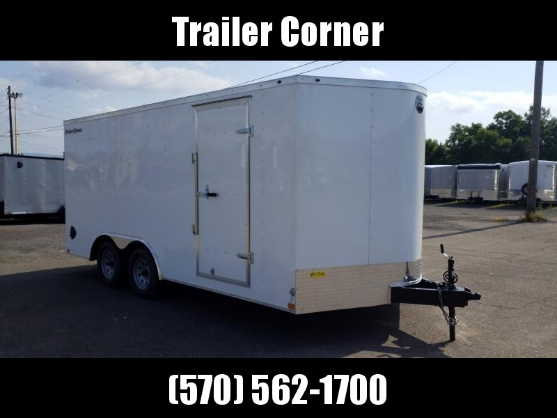 2020 Wells Cargo FT 8.5X16 7K Car / Racing Trailer