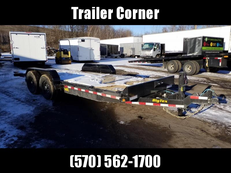 2021 Big Tex Trailers 14TL - 20 - TILT Equipment Trailer