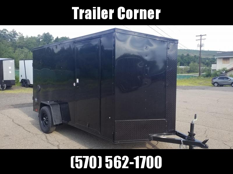 2022 Look Trailers STLC 6X12 - BLACKED OUT - RAMP DOOR Enclosed Cargo Trailer