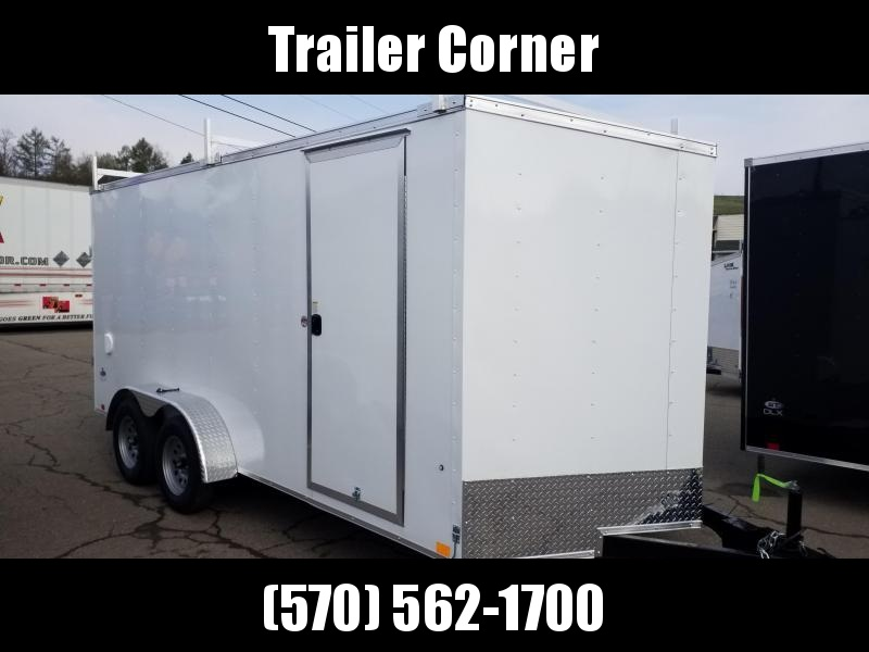 2022 Look Trailers STLC 7X16 - EXTRA HEIGHT - LADDER RACKS Enclosed Cargo Trailer