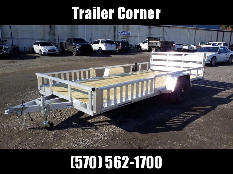 2021 Sure-Trac 7X14 ALUMINUM ATV Trailer