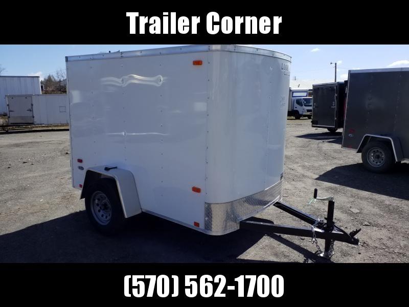 2021 Look Trailers ST 5X8 BARN DOOR Enclosed Cargo Trailer