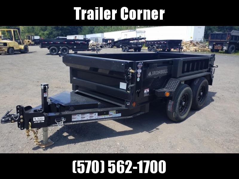 2022 Iron Bull 5X10 10K - SCISSOR - RAMPS Dump Trailer