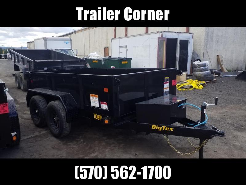 2022 Big Tex Trailers 5X10 7K Dump Trailer