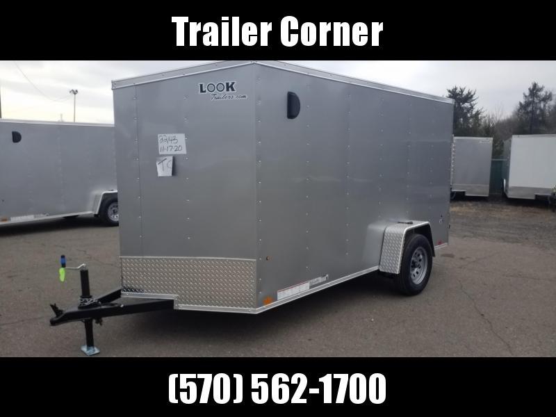 2021 Look Trailers STLC 6X12 - RAMP Enclosed Cargo Trailer