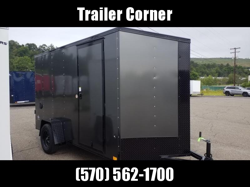 2022 Look Trailers STLC 6X12 - BLACKED OUT - EXTRA HEIGHT Enclosed Cargo Trailer