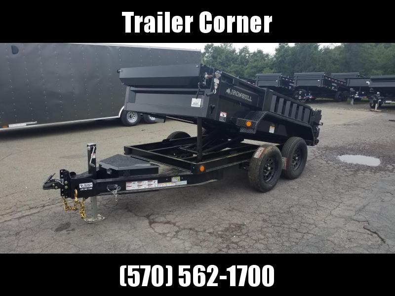 2022 Iron Bull 5X10 7K SCISSOR - RAMPS - TARP KIT Dump Trailer