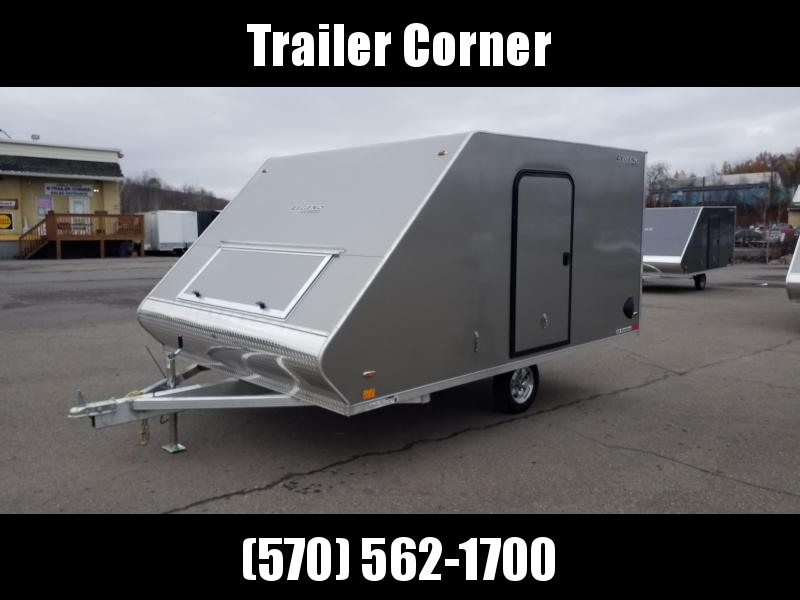 2021 Legend Trailers 8.5X13 ALUMINUM Snowmobile Trailer