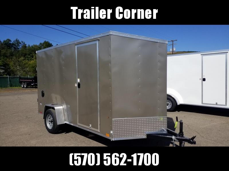 2021 Look Trailers STLC 6X12 EXTRA HEIGHT - RAMP Enclosed Cargo Trailer